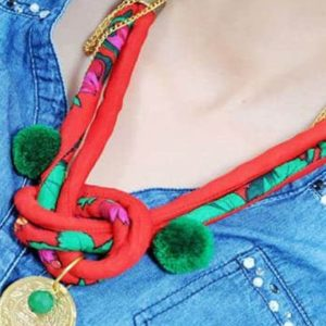 collier traditionnel hafside