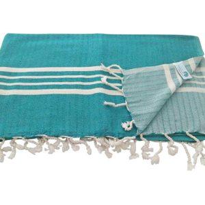 Fouta de plage xxl, Drap de hammam – Royale, luxueuse, très douce – 160×215 cm – 100% Coton