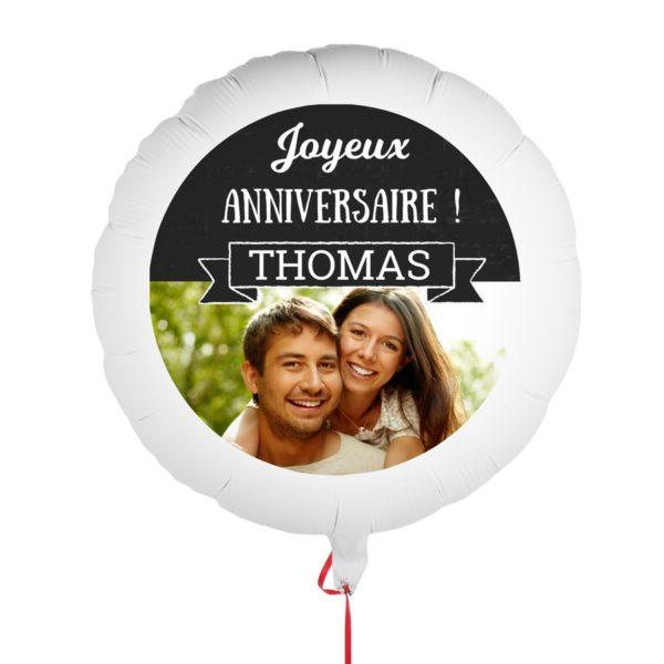 ballon personnalise anniversaire