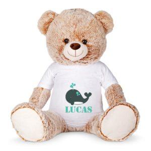 Basile l'ours – Peluche géante