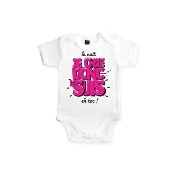 bodies personnalisés pour bébé