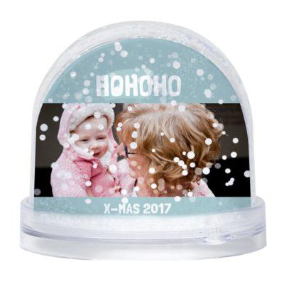 Boules à neiges personnalisées