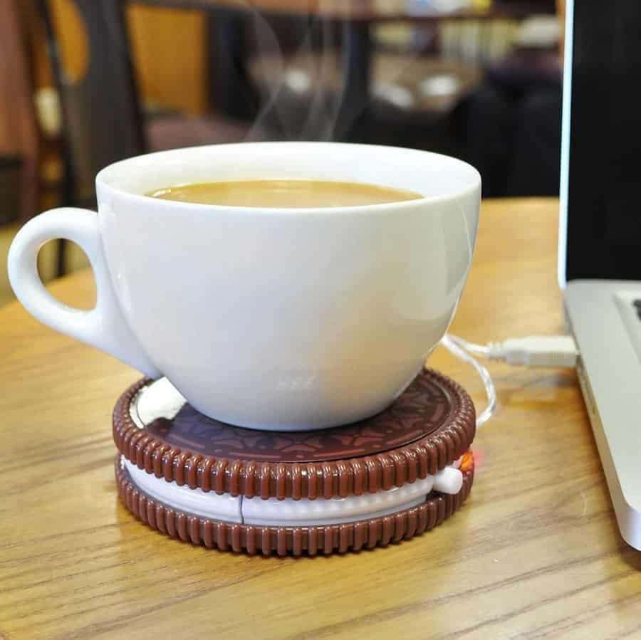 Chauffe-tasse USB