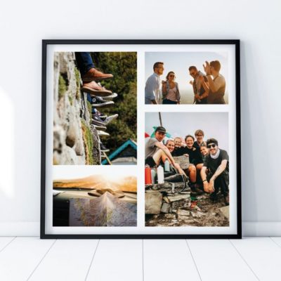 Poster Photo Personnalisable – 4 images