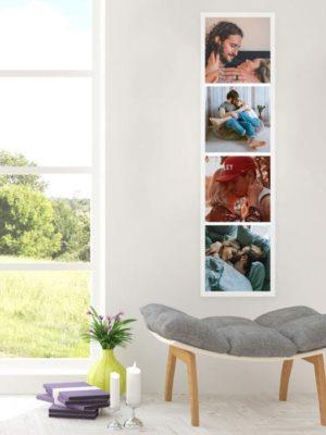 Poster personnalisable avec photos idée cadeau