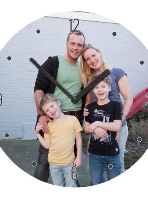 horloge personnalisee ronde grande isorel