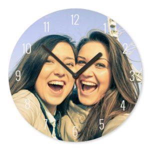 Horloge murale personnalisée avec photo