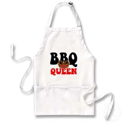 tablier BBQ Queen idée cadeau personnalisé