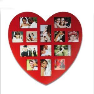 marco de fotos con forma de enorme corazon regalos es ec
