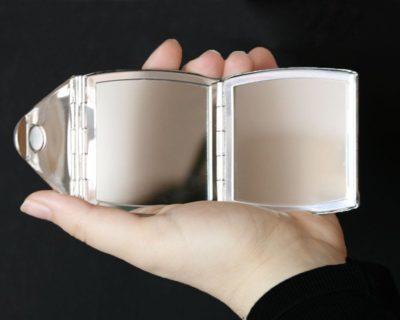 Miroir de sac Enveloppe et Stylo clé usb