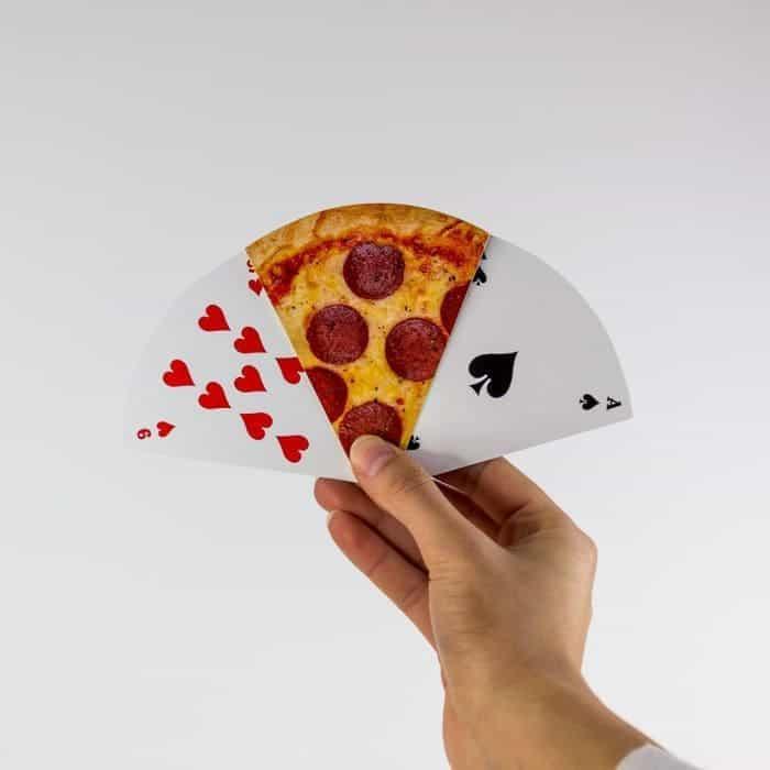 JEU DE CARTES PIZZA idée cadeau