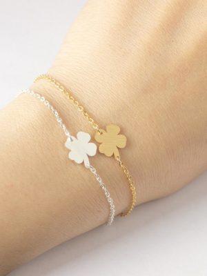 Bracelet trèfle Irlandais