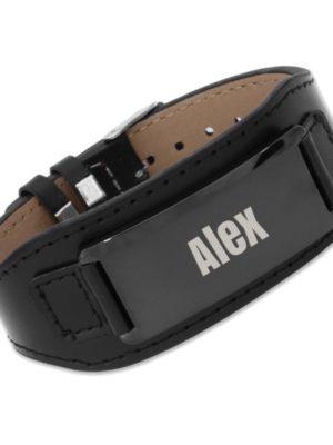 Bracelet en cuir personnalisable