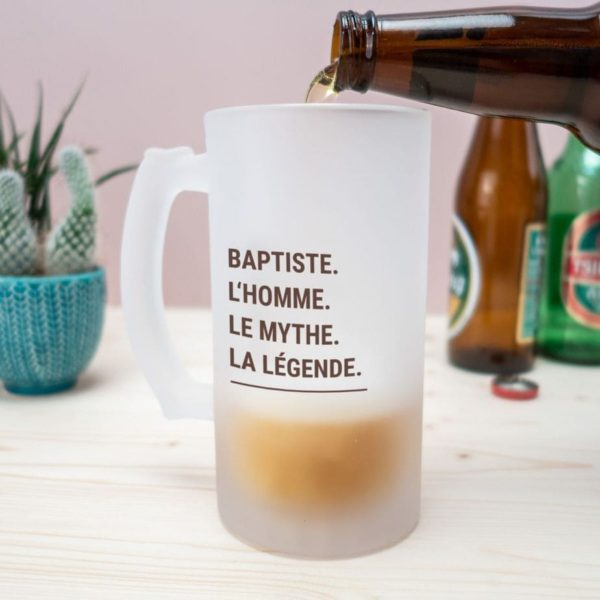 CHOPE DE BIÈRE MODERNE & PERSONNALISABLE