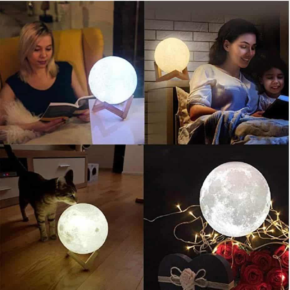lampe magique Luna Moon
