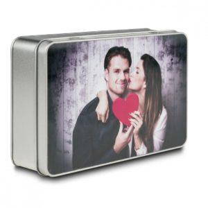 caja de regalo cuadrada con foto regalos es abe