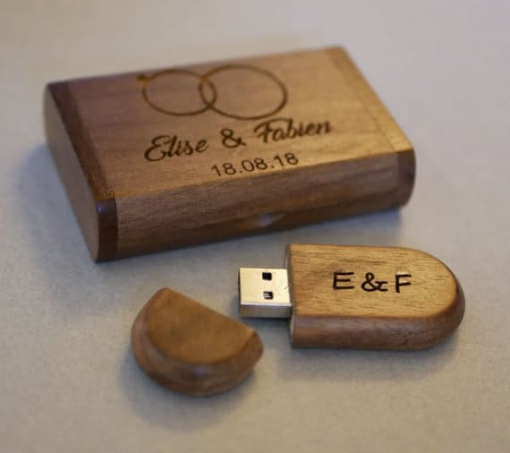 Coffret avec Clé USB 16 Go personnalisable