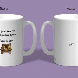 Mug texte d'humour