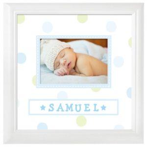 Cadre pour photo de votre bébé avec nom
