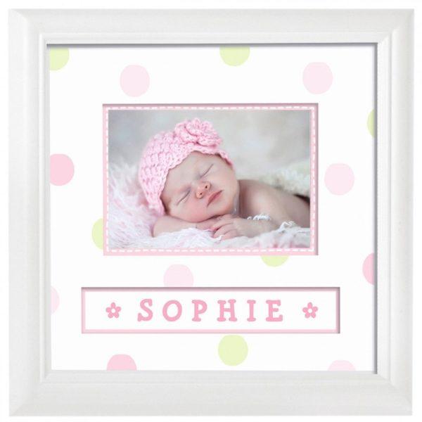 marco para la foto de tu bebe con su nombre regalos es  eedfca