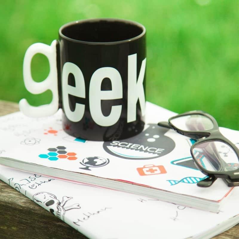 Mug Geek idée cadeau insolite