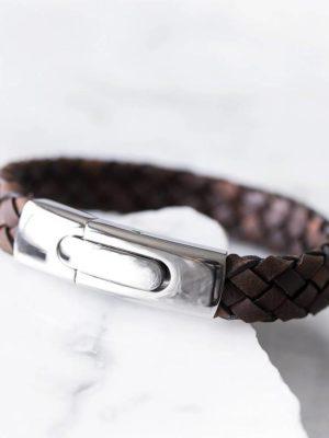 original personalised men s secret message bracelet