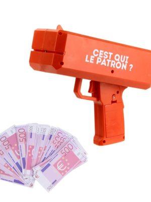 pistolet distributeur billet