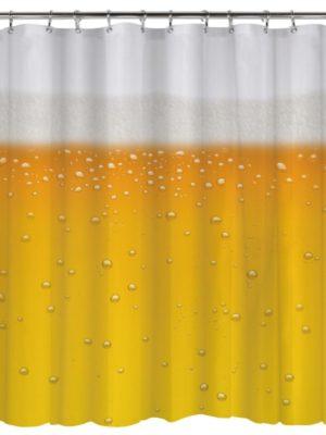 rideau de douche biere
