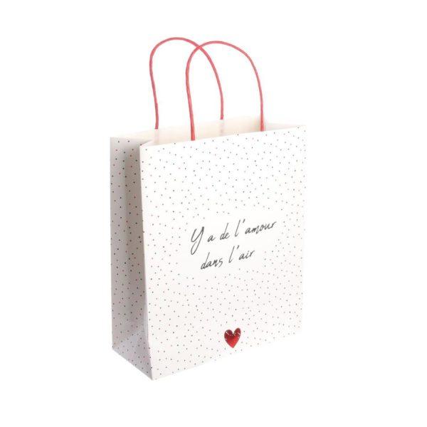 Sac Cadeau avec Mots d'Amour