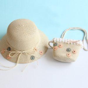 Kid's Breathable Summer Cap & Bag