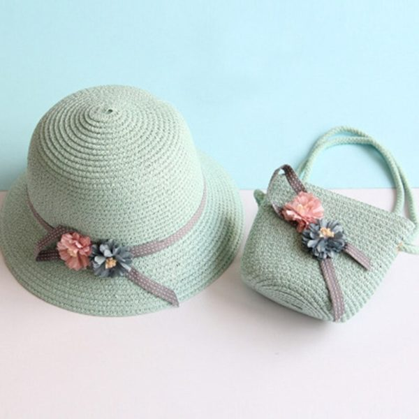 Kid's Breathable Summer Cap & Bag