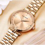 Women's Crystal Dial Stainless Steel Bracelet Watch