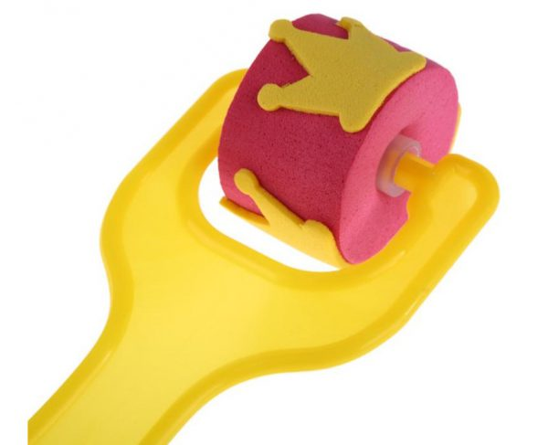 Kid's Sponge Roller Brushes 4 Pcs Set