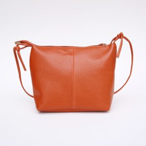 Fashion Minimalistic Compact Leather Women's Shoulder Bag
