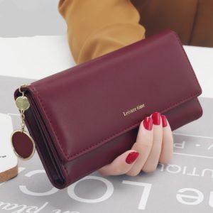 Women's Leather Multi-Functional Long Wallet