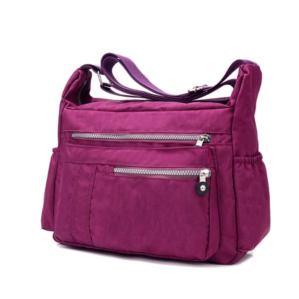 Convenient Casual Nylon Women's Messenger Bag