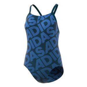 Maillot de bain femme Adidas PER+1PC LIN Bleu