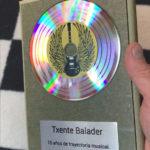 Disque d'or personnalisé BABINYL