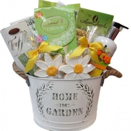 Panier-cadeau de jardin