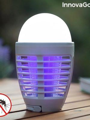 Lampe Antimoustiques Rechargeable à LED 2 en 1