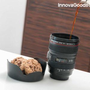 Verre Multifonction en forme d'objectif d'appareil photo