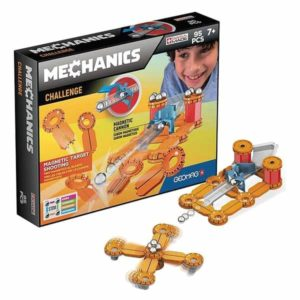 Set de construction Geomag Mechanics Challenge (95 pcs)