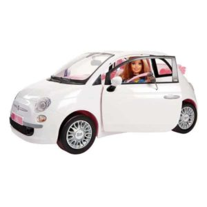 Voiture Barbie Fiat 500 Mattel