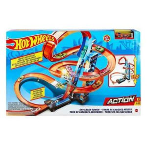 Piste avec Rampes Hot Wheels (60 cm)