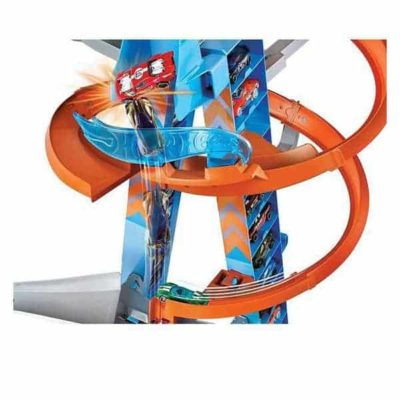 Piste avec Rampes Hot Wheels (60 cm)