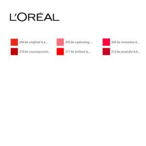 Brillant à lèvres Brilliant Signature L'Oreal Make Up (6,40 ml)