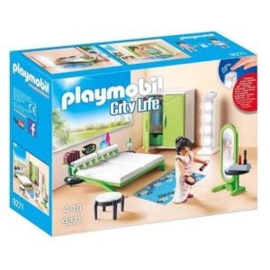 Playset City Life Home Bedroom Playmobil 9271 (21 pcs)