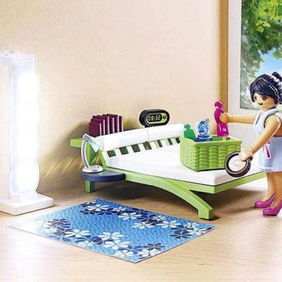 Playset City Life Home Bedroom Playmobil