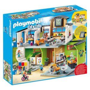 Playset City Life School Playmobil 9453