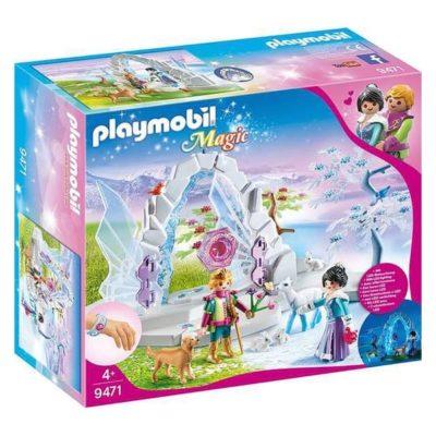 Playset Magic Winter Door Playmobil